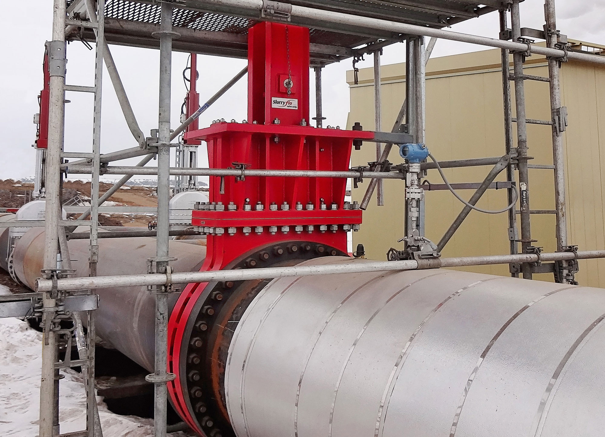Slurryflo Control Valve used in process water application