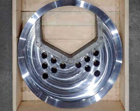 SlurryFlo control valve custom designed trim for cavitation