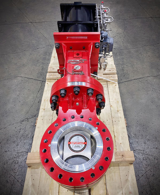 SlurryFlo Control Valves increase valve performance and life expectancy in all abrasive applications.