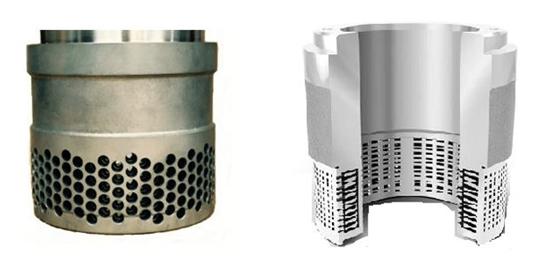 Anti cavitation globe valve trims