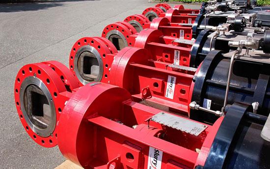 Severe service slurry control valves - SlurryFlo