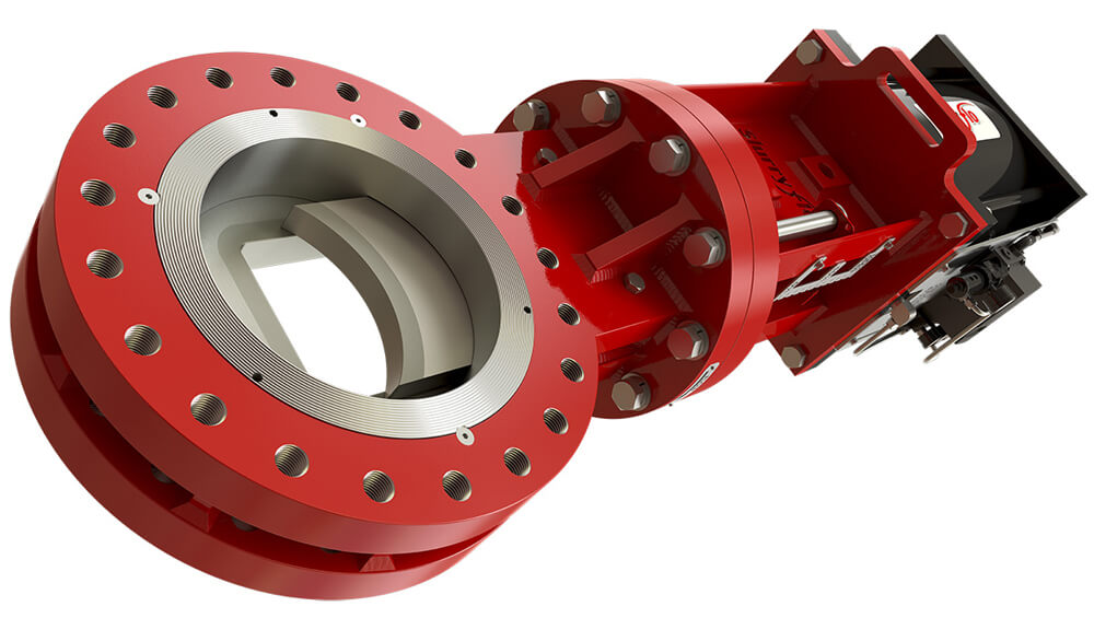 SlurryFlo Control Valves are custom engineered valves that centralize flow and increases performance and service life.