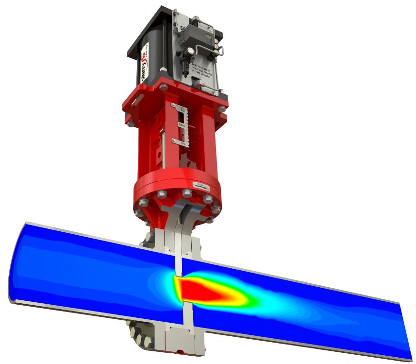 SlurryFlo control valves excel in severe service applications