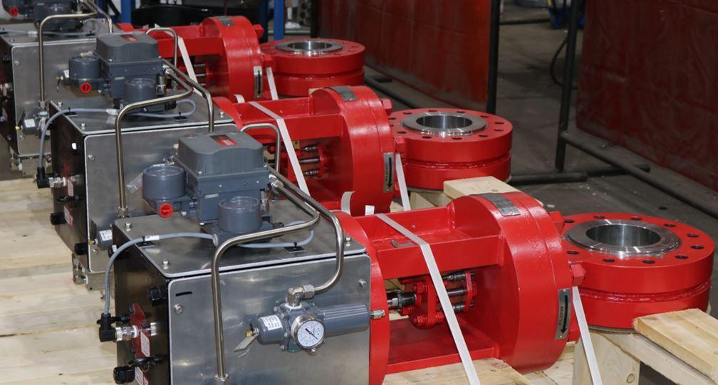 Control Valves for abrasive natural gas service