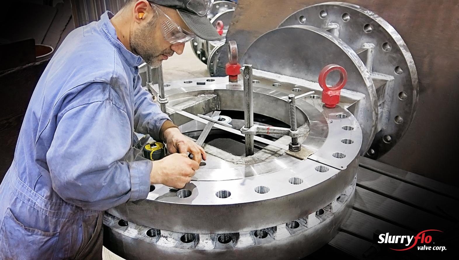 SlurryFlo control valves are manufactured and designed in Canada