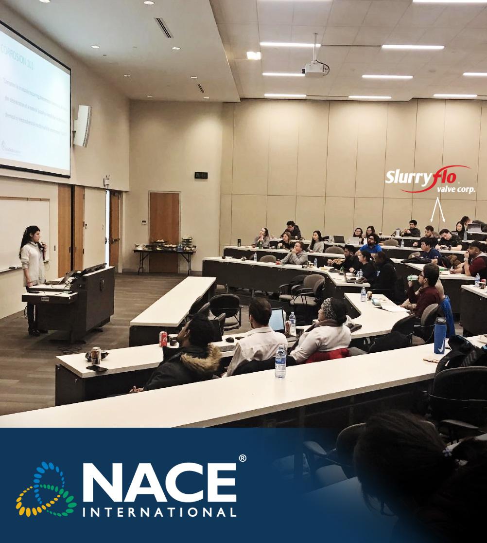 SlurryFlo engineers attending NACE seminar