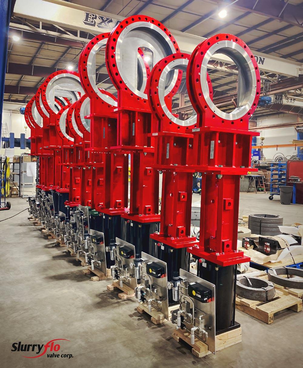 SlurryFlo control valves ready for severe service applications