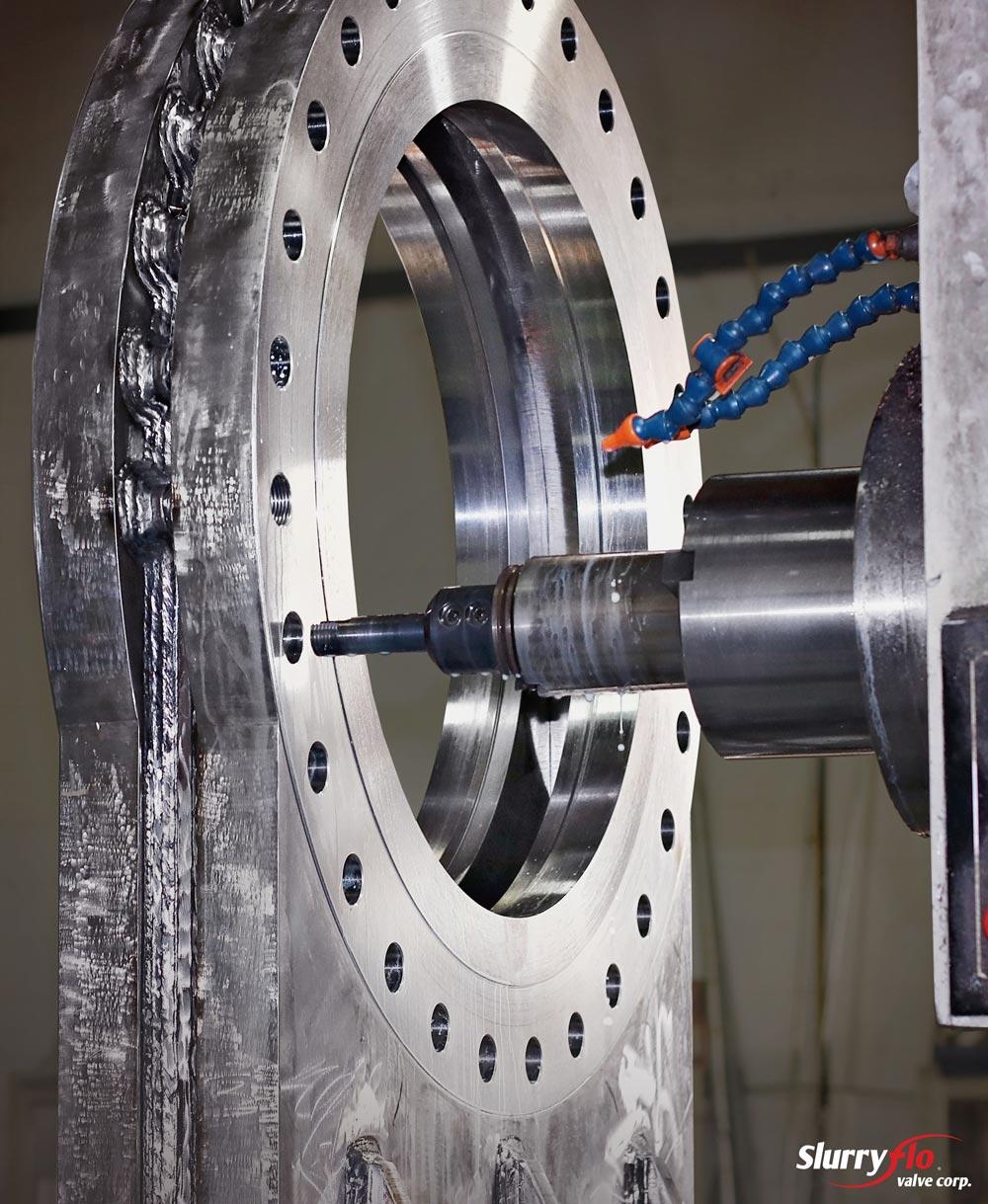 SlurryFlo Control Valve Manufacturing