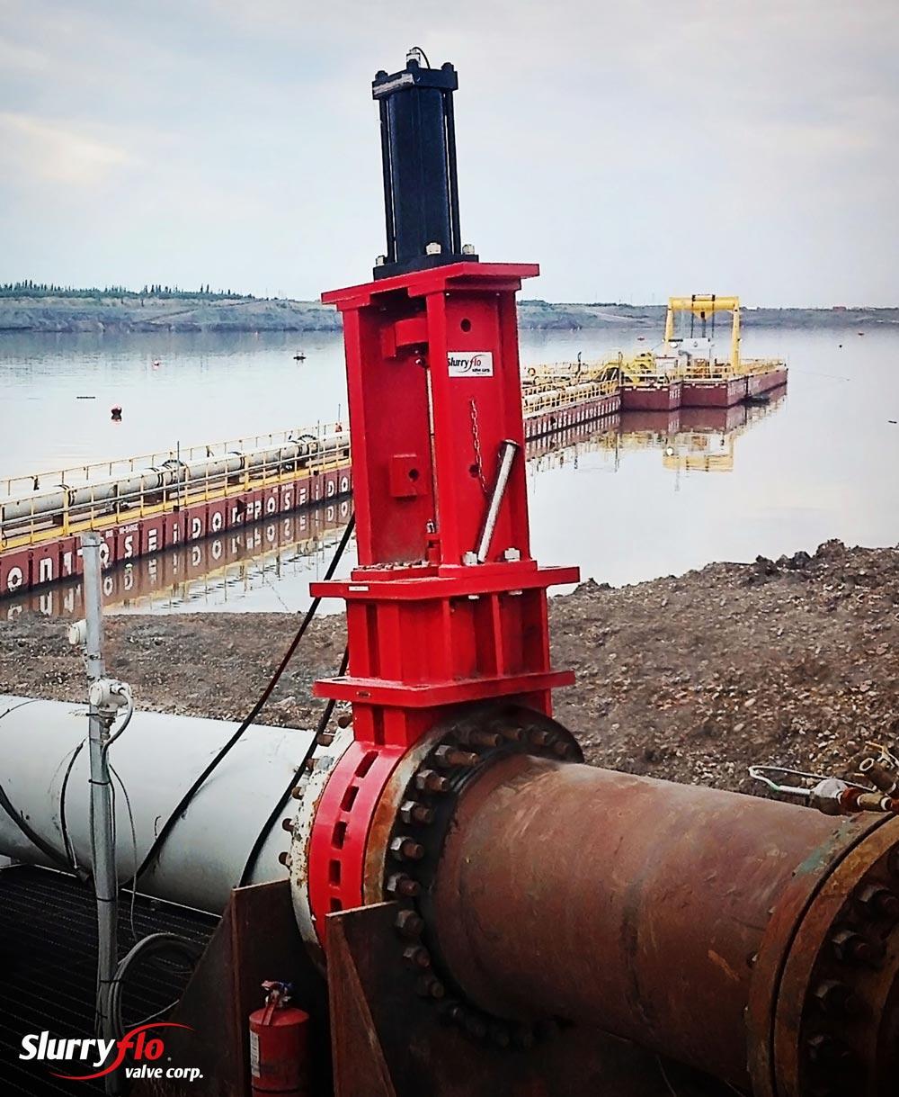 SlurryFlo control valves for severe service tailings