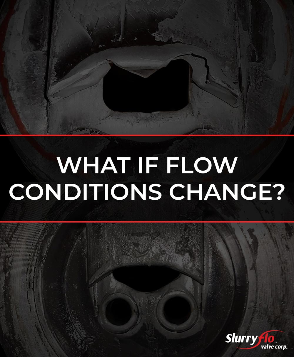 What if Flow Conditions Change?