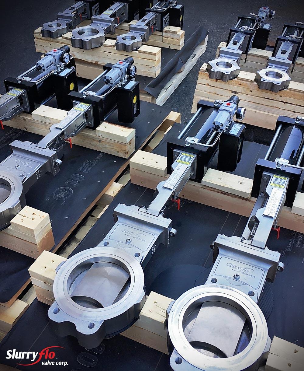 SlurryFlo control valves for Australian mine