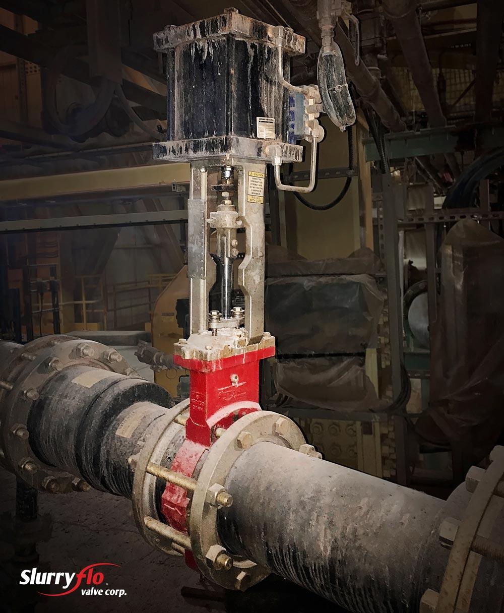 Severe Service Control Valve in Potash Industry