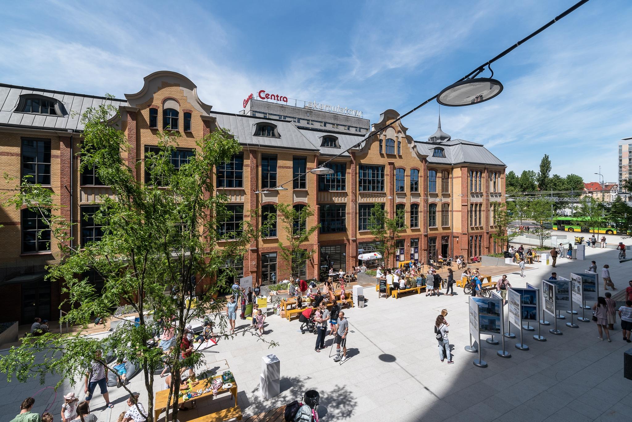 Concordia Design, widok zewnętrzny - Garvest - Poznań