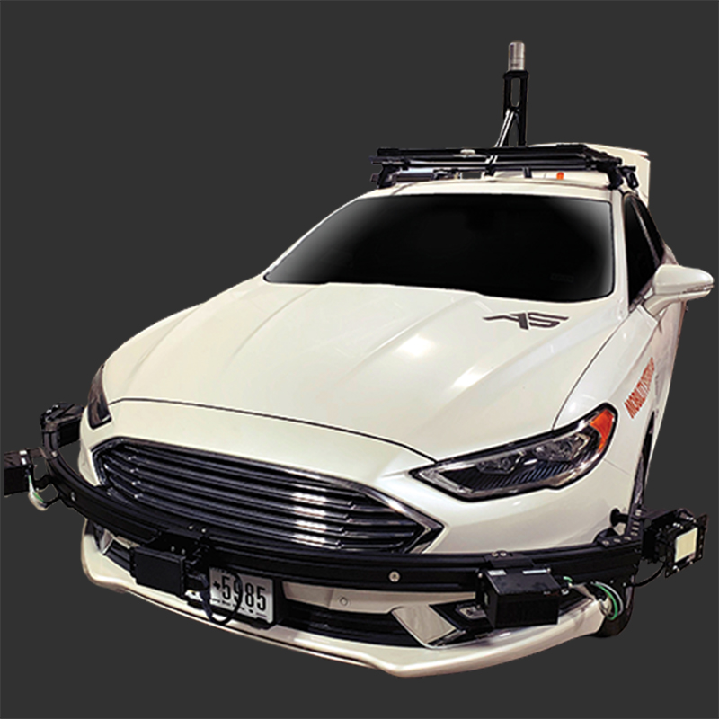 cutout of an automated vehicle