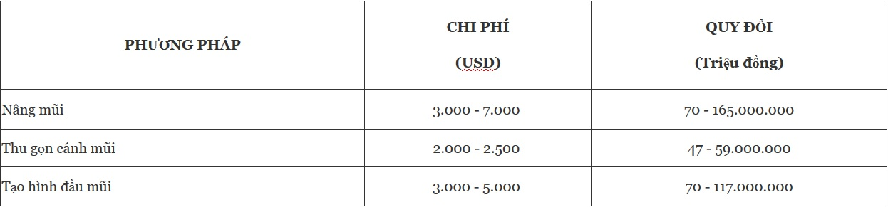 Nâng mũi ở Hàn Quốc giá bao nhiêu? 4 Kinh nghiệm từ người từng trải