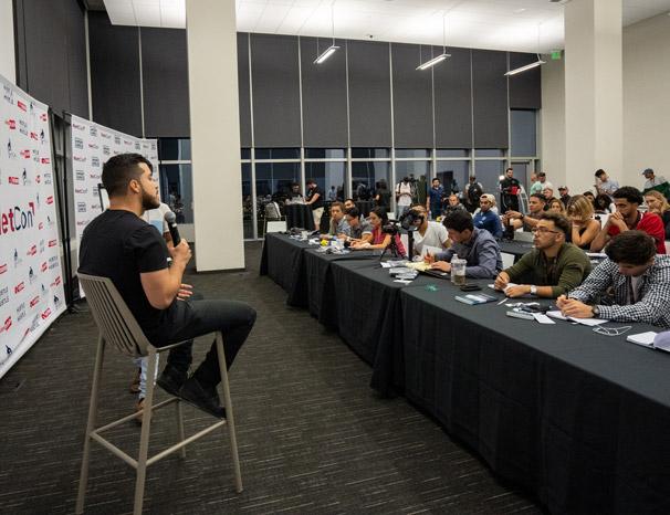 Alex Quin Netcon Conference Los Angeles