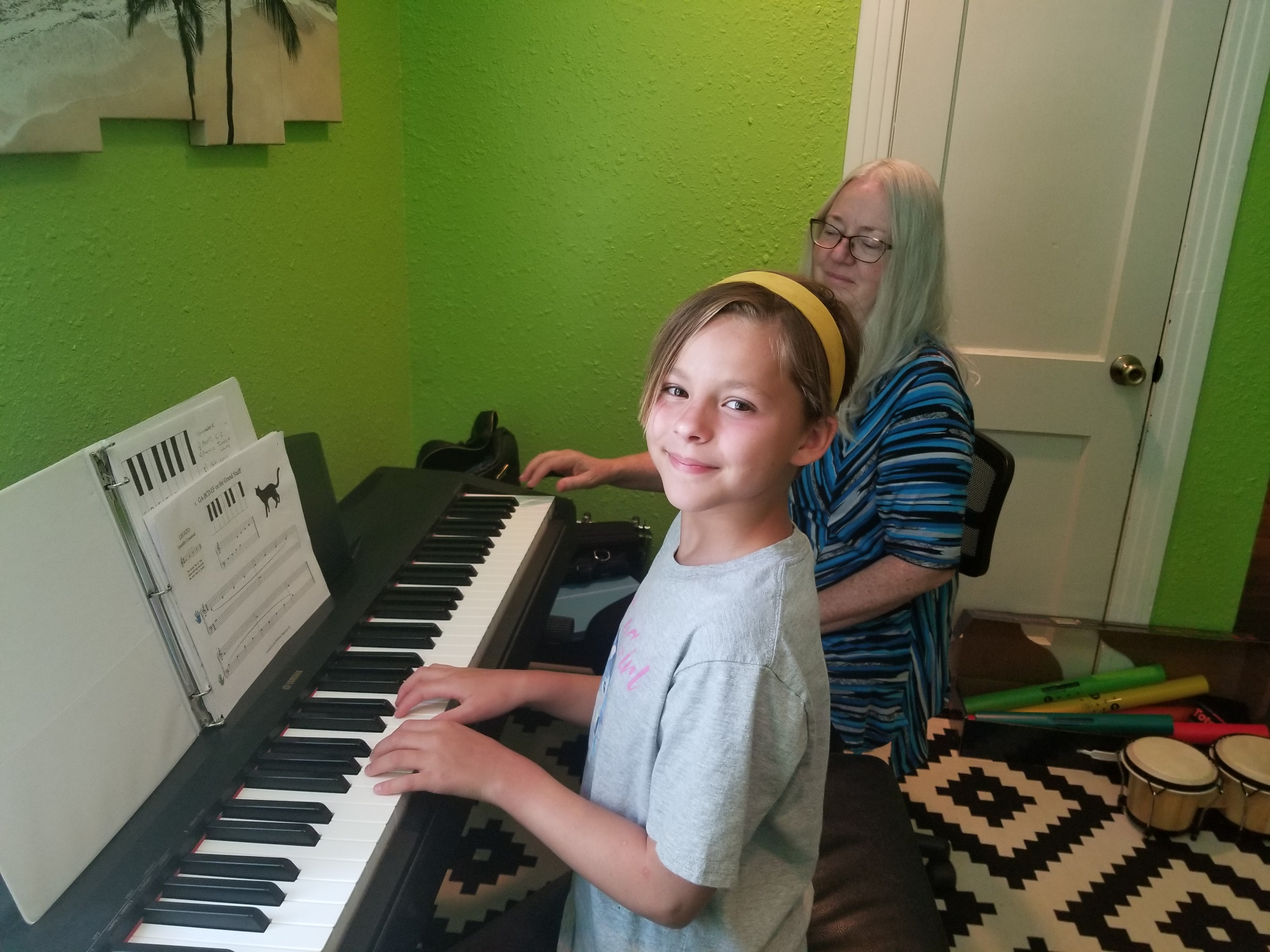 Taking Piano lessons is so much fun at WMA!