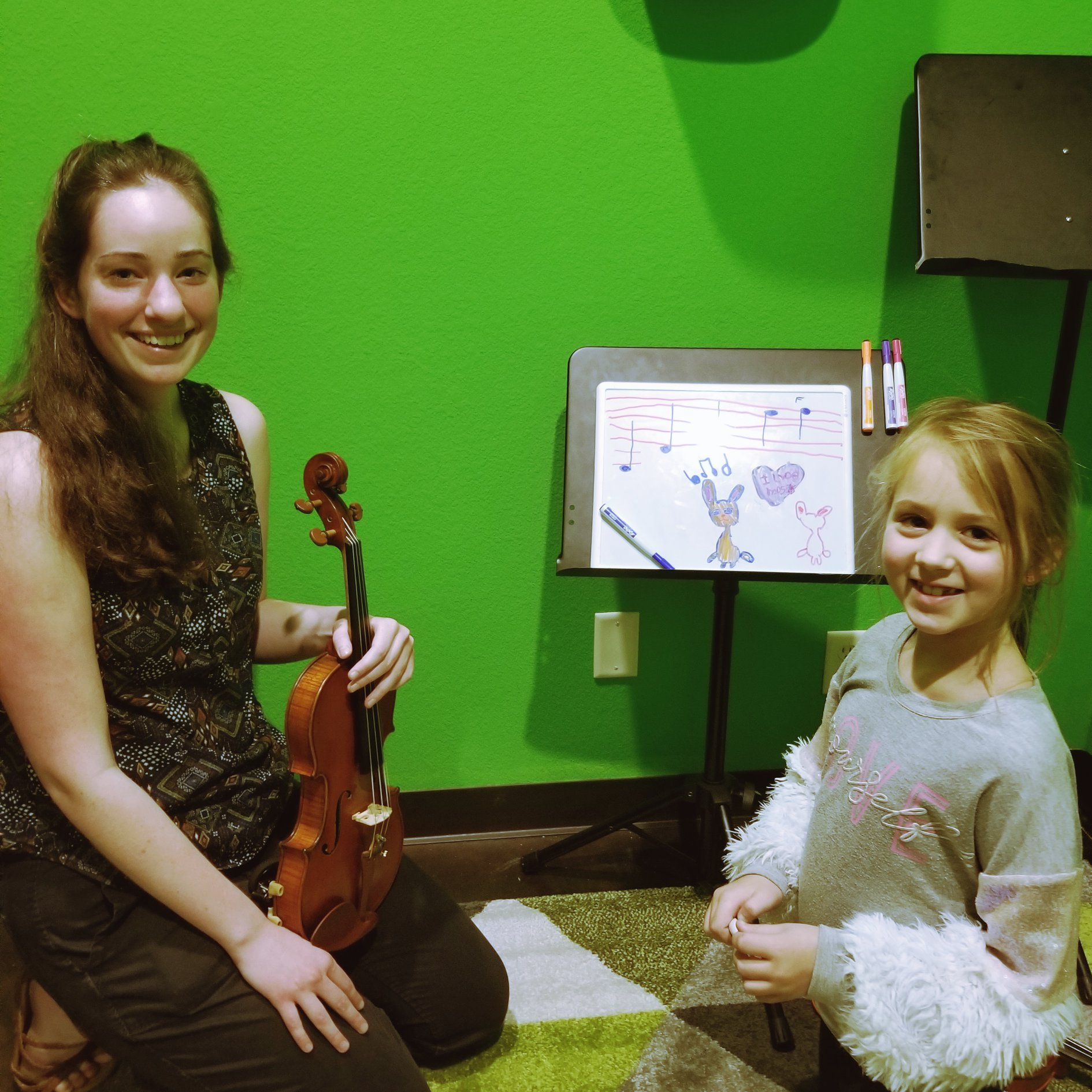 Violin Lessons are SO much fun at Weatherford Music Academy for students of all ages! We offer in person and online lessons, too!