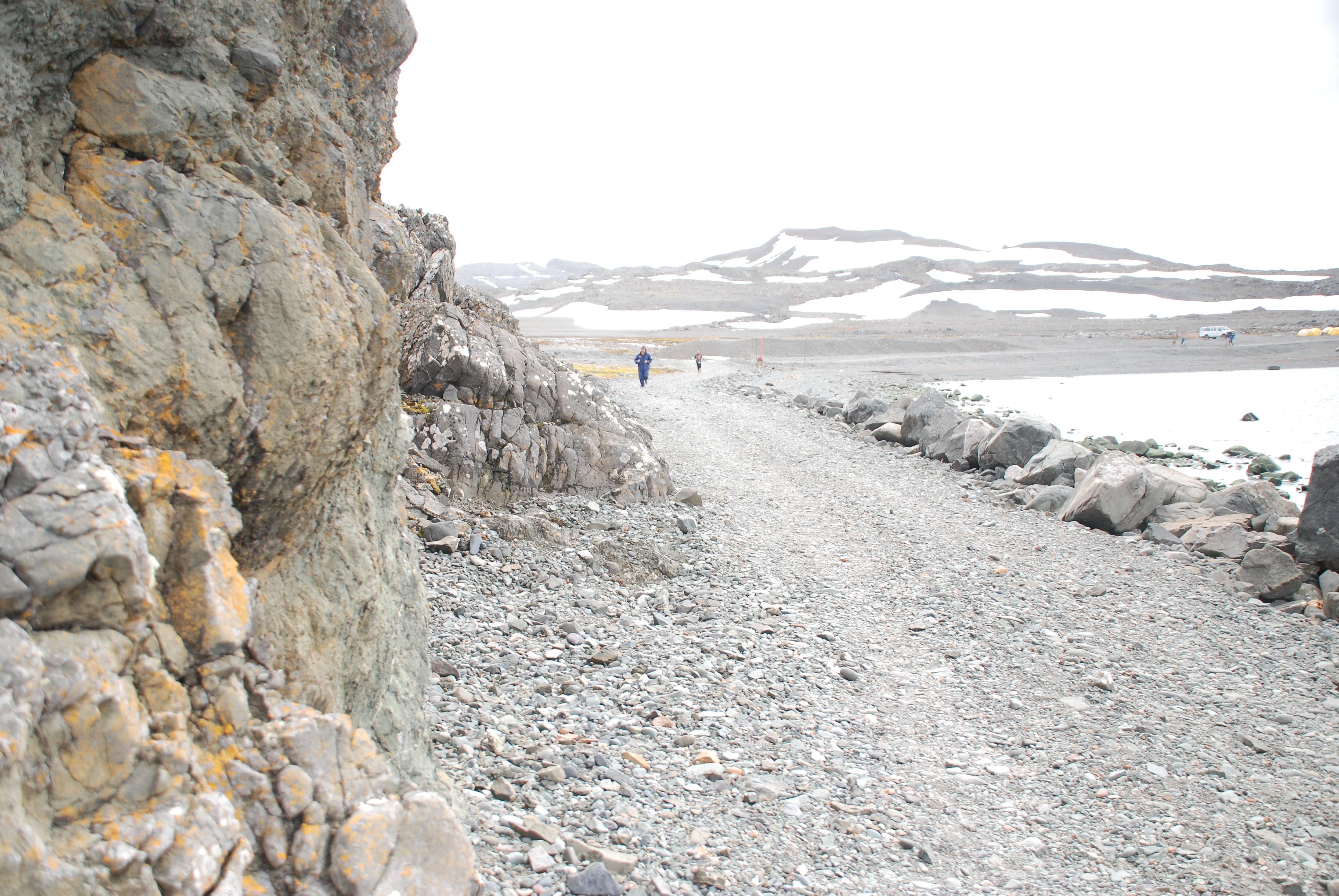 Antarctica marathon course