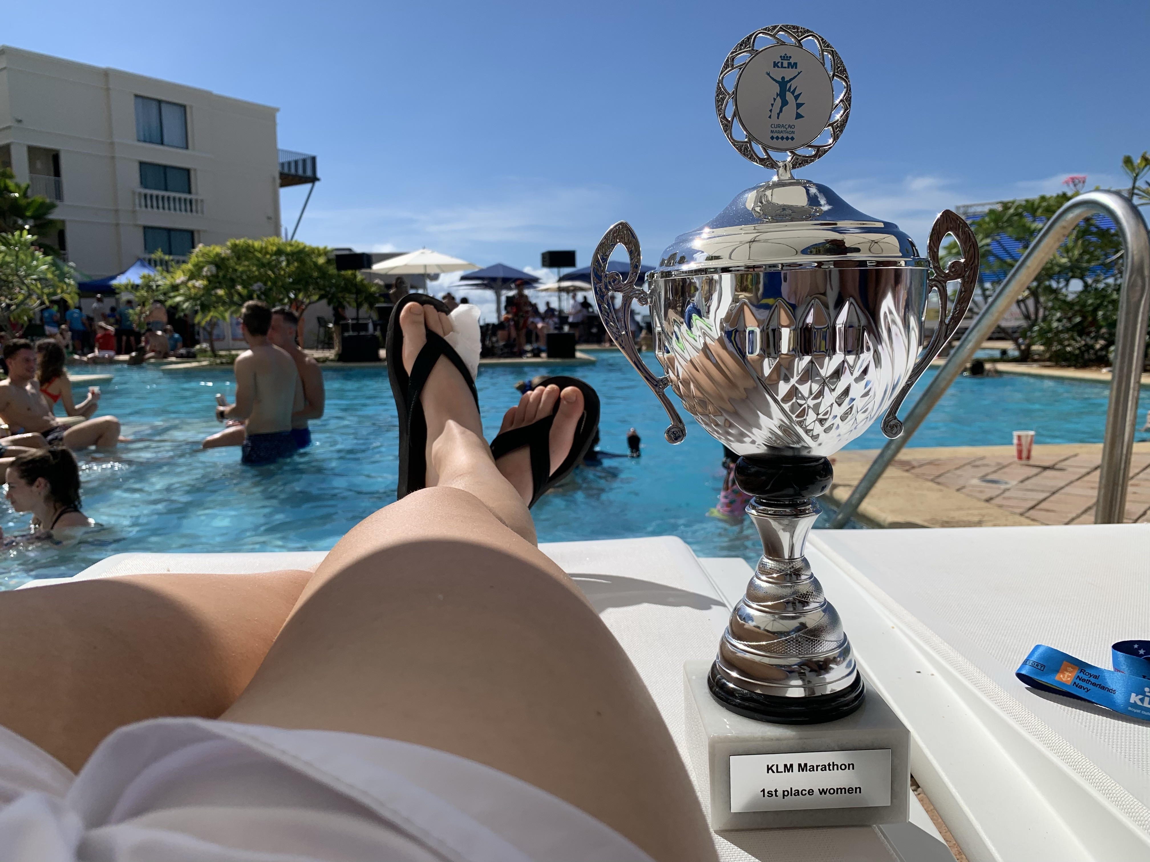 Curacao marathon trophy