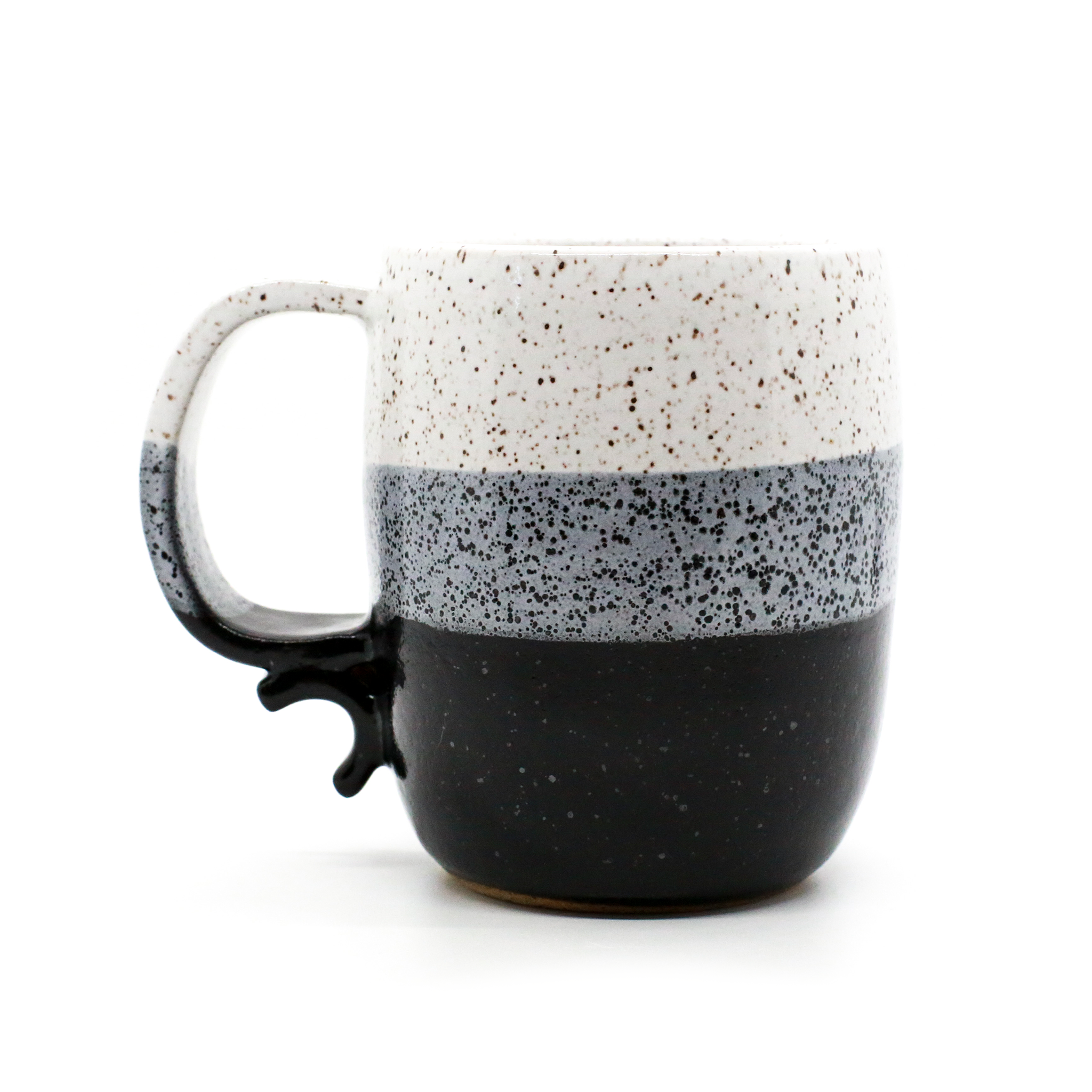 Black & White Speckled Mug