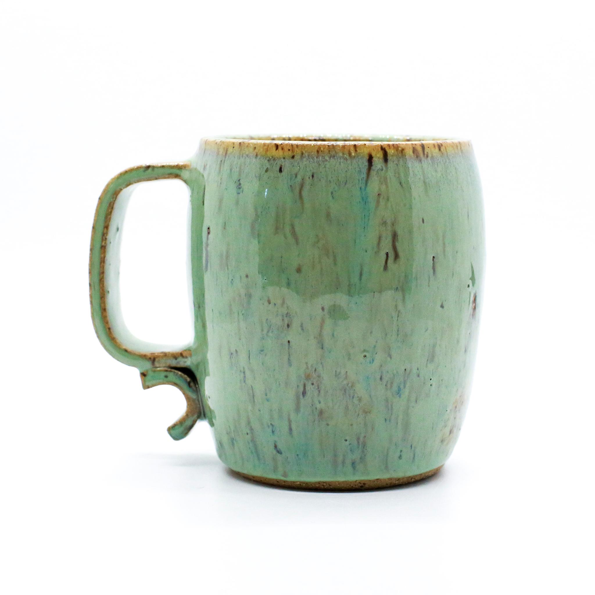 Seafoam Speckled Mug