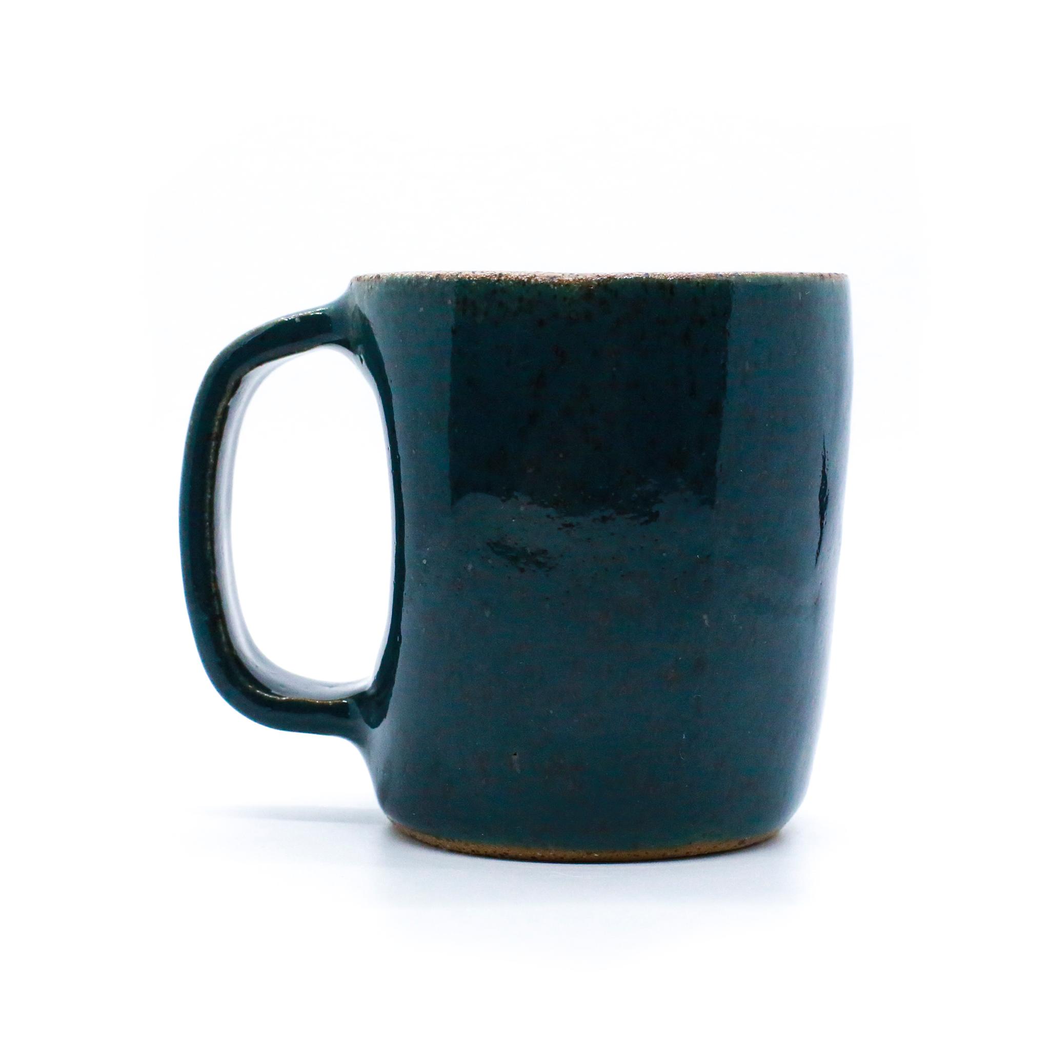 Teal Knuckle Mug