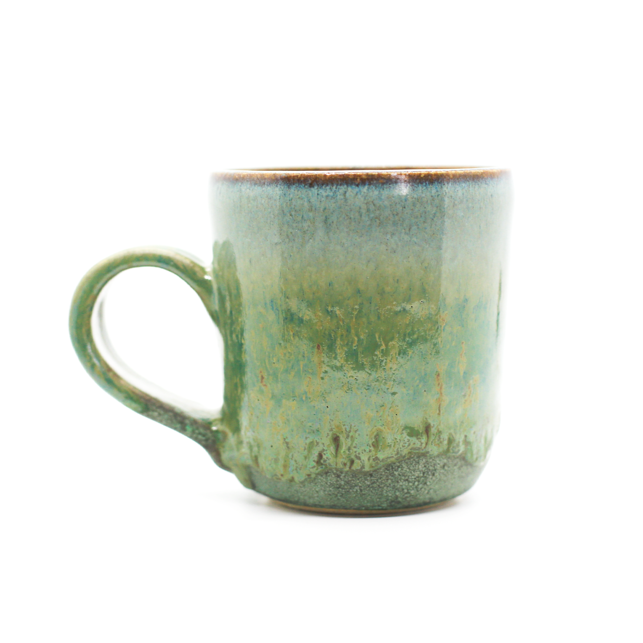 Green & Gold Mug