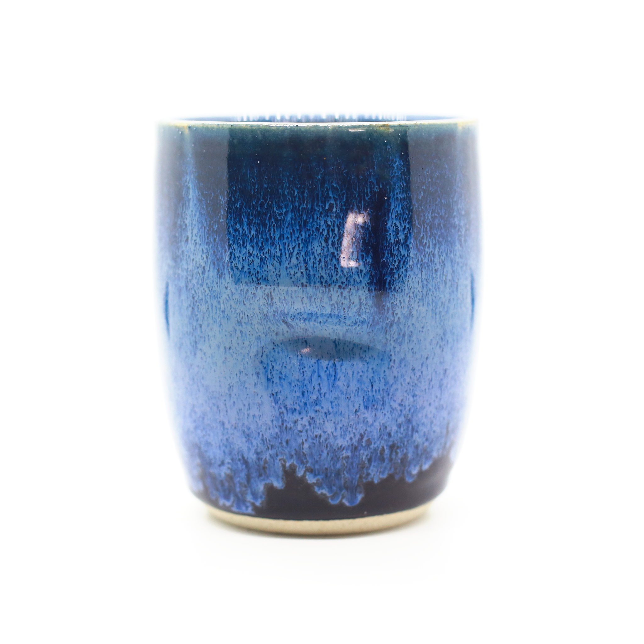 Blue & Purple Thumb Tumbler