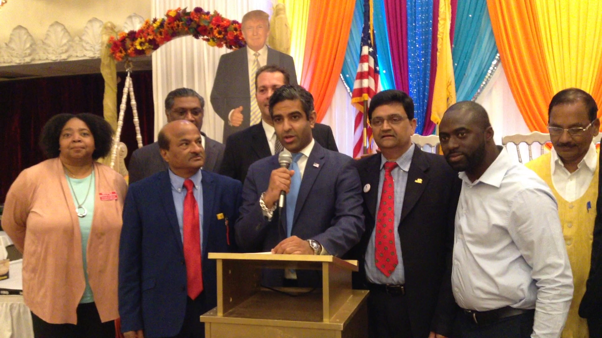 Singh and Local Republicans Denounce Edison Democrat