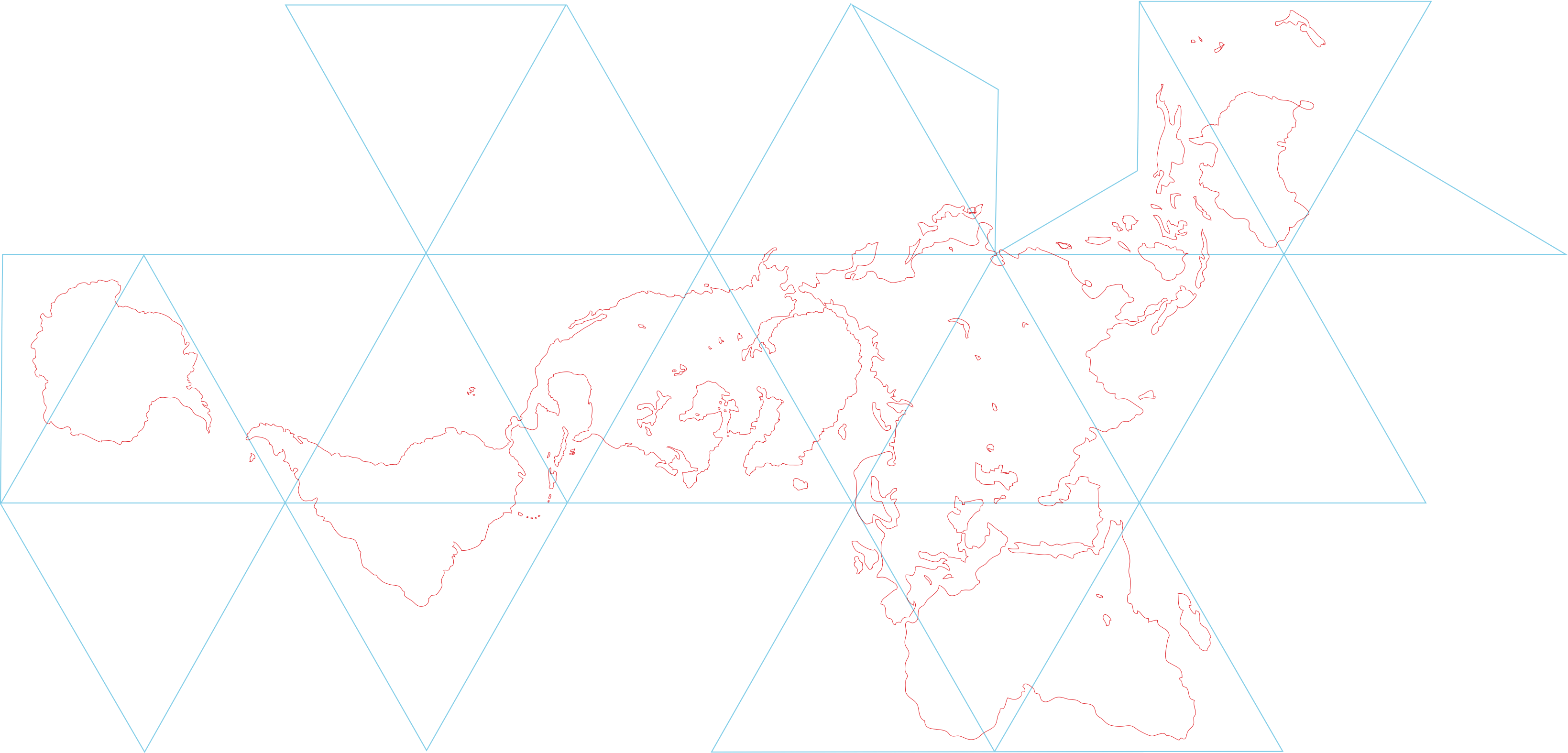 Dymaxion Map