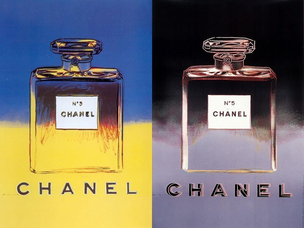 Chanel No.5 Andy Warhol