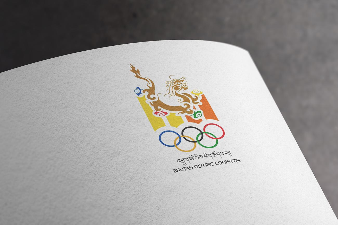 Bhutan olympics official logo