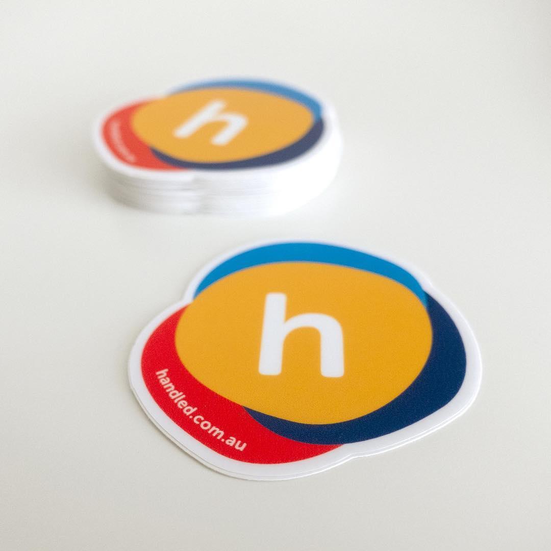 Our client sticker