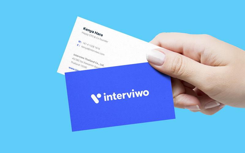 interviwo brand identity
