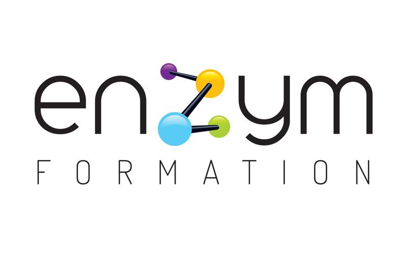 Logo de ENZYM Formation, organisme de formation pour infirmières libérales, partenaire de Santé Académie