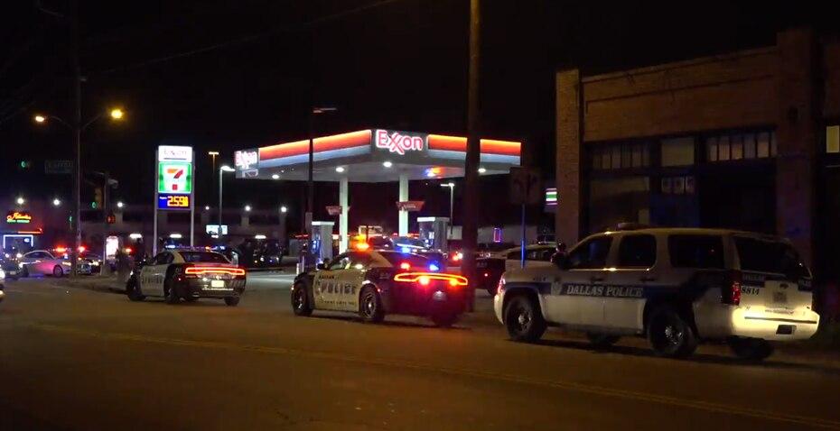 Police Outside 7-11