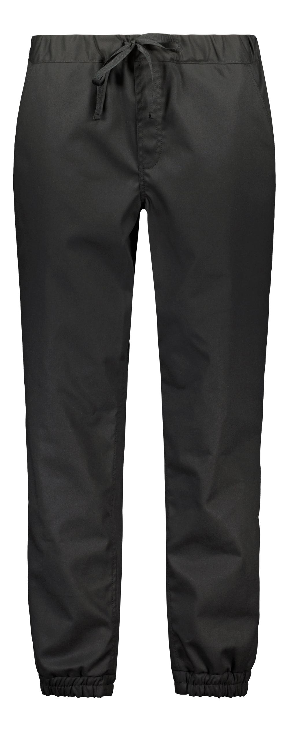 Robi housut, unisex, musta