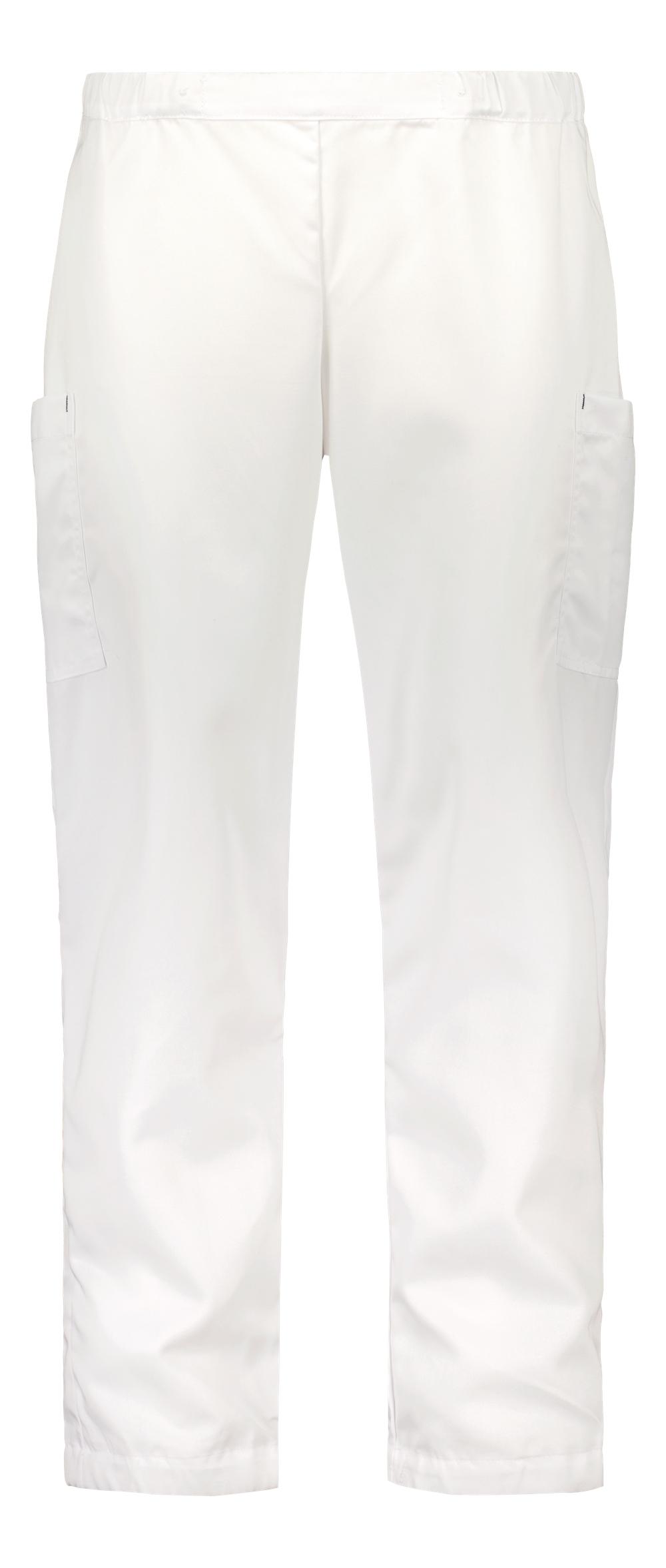 Hilla housut, unisex, valkoinen