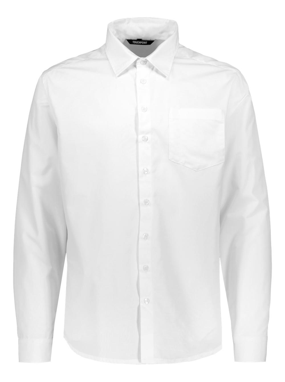 Raul miesten paitapusero, valkoinen