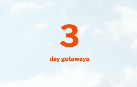 Sky 3 Day Getaways
