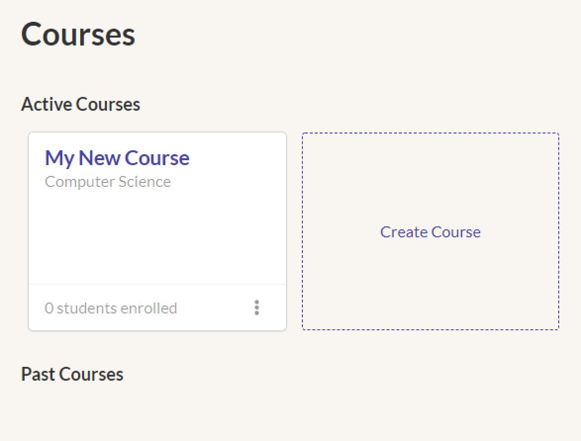 Kritik Course Lobby