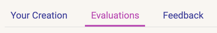 Evaluation Stage