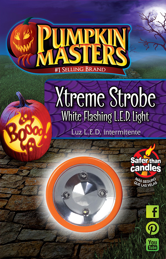 Xtreme Strobe White Flashing L.E.D Lights