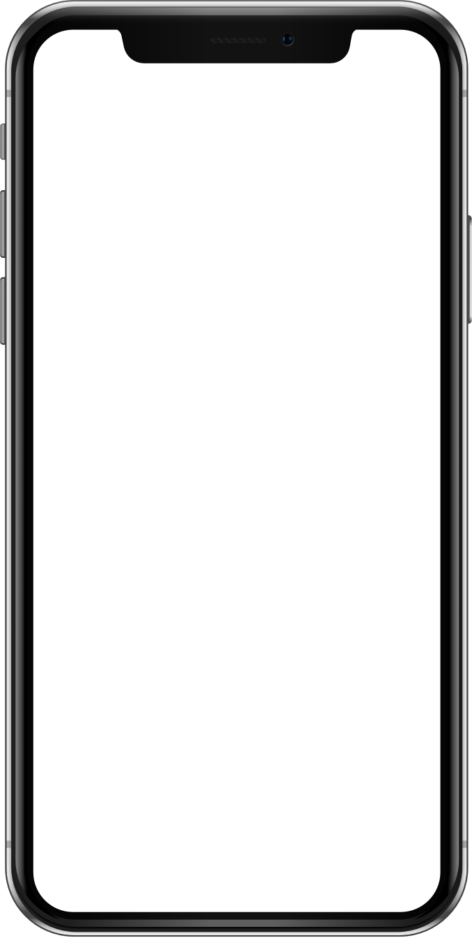 The frame of an Iphone