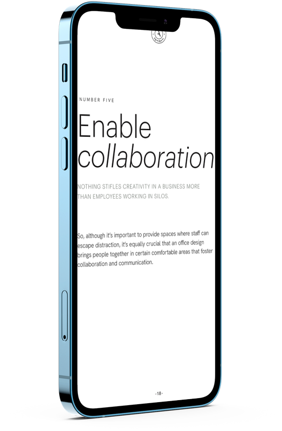 Mockup of HVCO2 document opened on iPhone