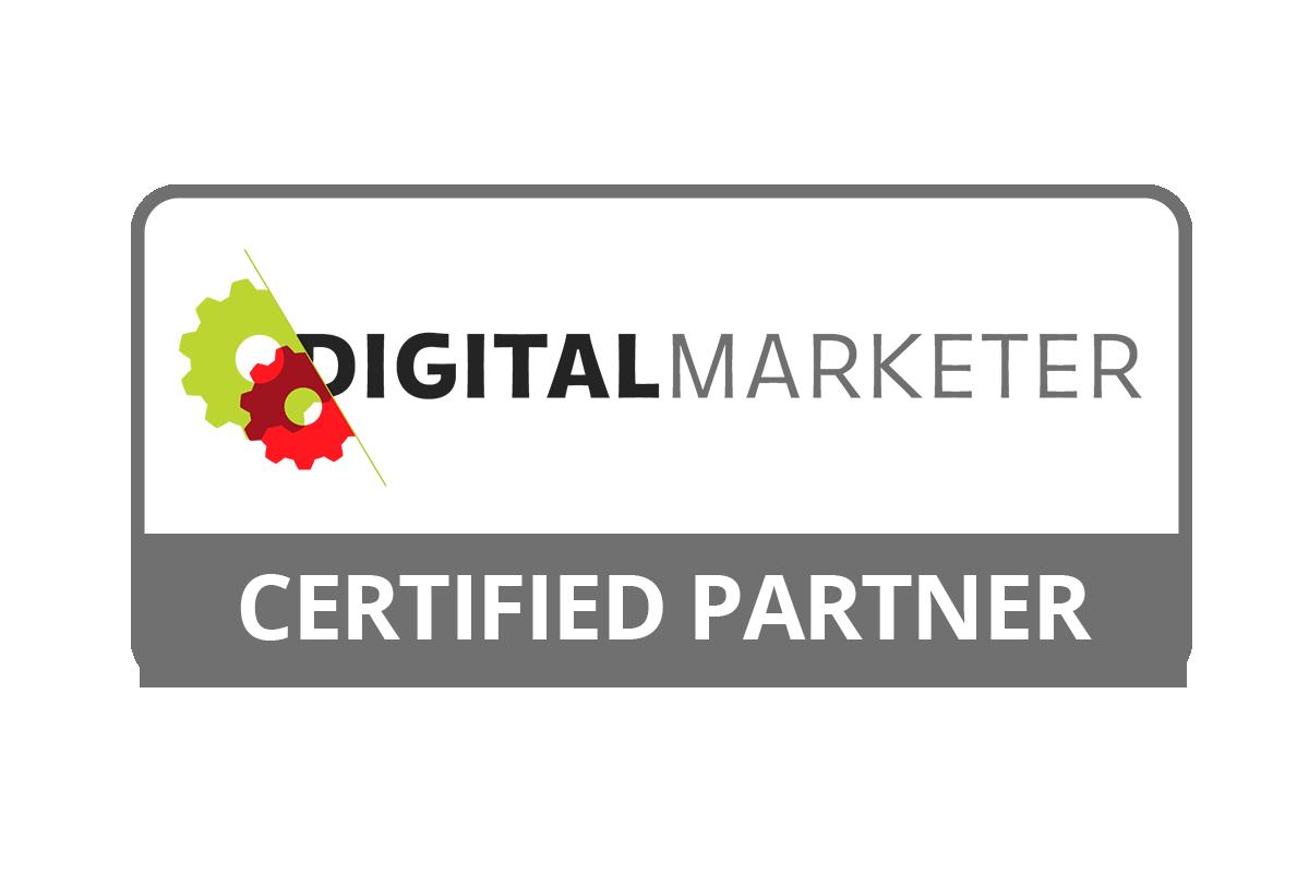 Digital Marketer Certified Partner Logo