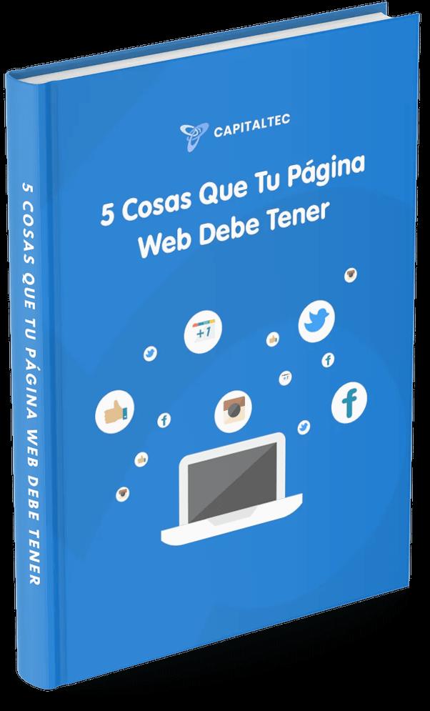 5 cosas que tu pagina web debe tener