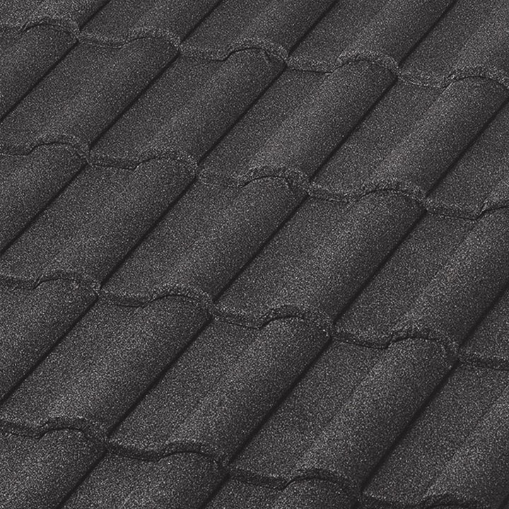 BORAL Steel Stone Coated Roofing Barrel-Vault Tile