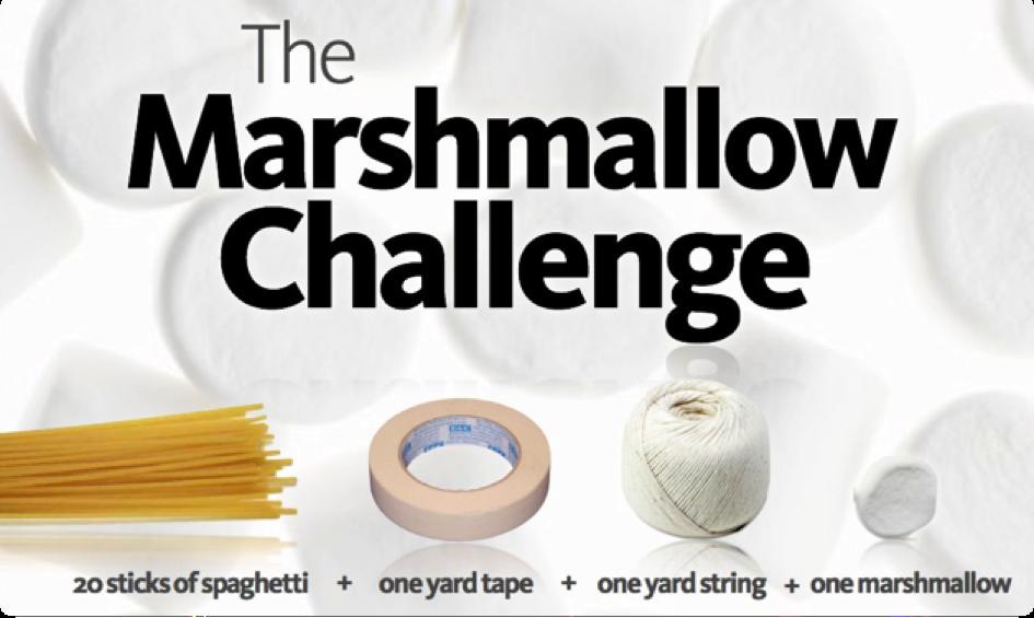 Le marshmallow challenge killer